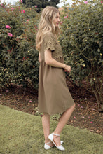 Load image into Gallery viewer, The Peony Modest Dress | Olive
