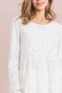 White Blossom Top