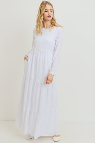 White Bluebell Dress