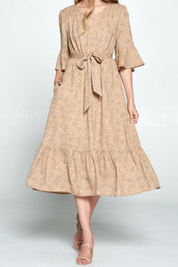 Lolita Modest Dress | Mauve