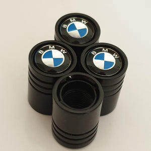 BMW Huge alloy Metal Valve dust caps with Plastic Insides in 10 colours NON STICK for all models M3 M4 M5 X5 X6