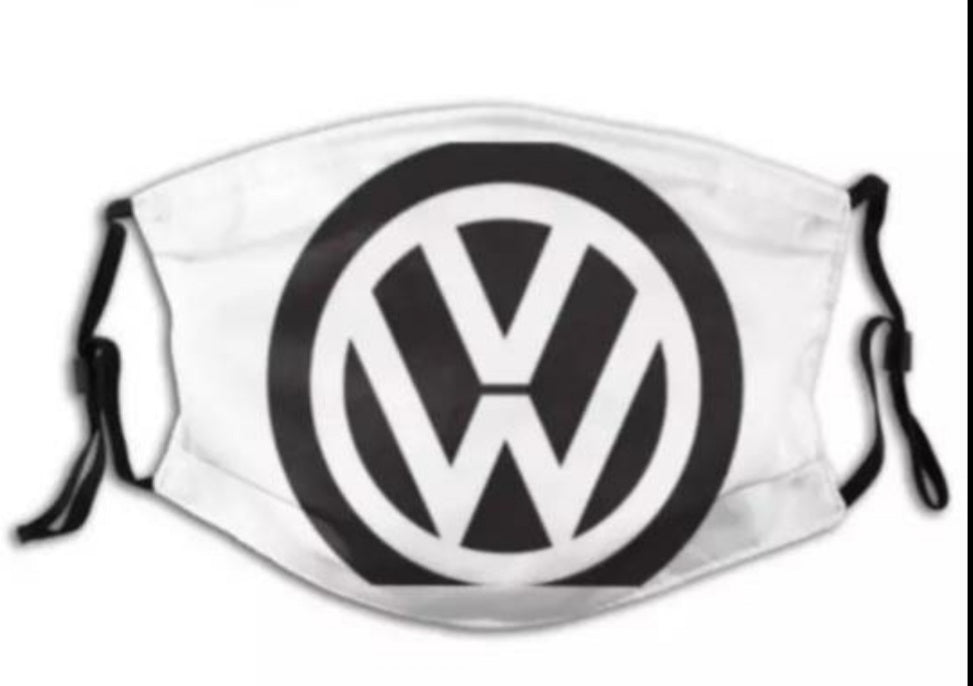 Copy of VW Volkswagen Face Mask with 2 filters Excellent Adult Cotton Breathable