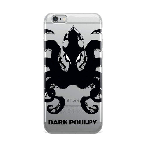 Poulpe Dark Poulpy iPhone Case-Poulp'in Up
