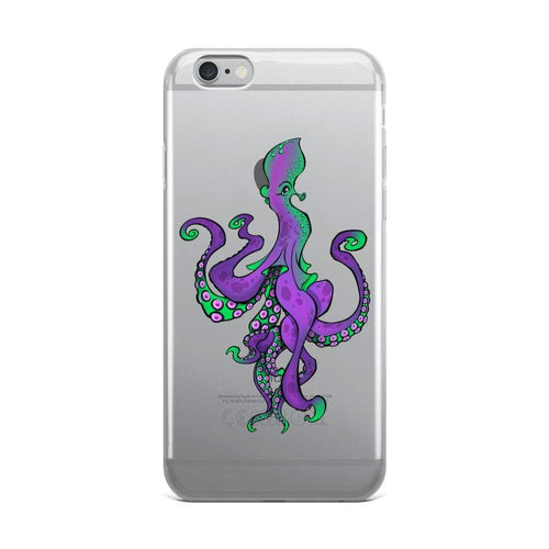 Poulpe GOA Poulpy iPhone Case-Poulp'in Up