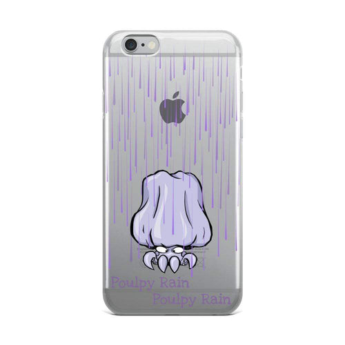 Poulpe Poulpy Rain Iphone Case-Poulp'in Up