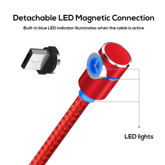 360 ROTATING MAGNETIC CHARGING CABLE - ZZgeeks