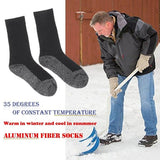 Winter 35 Below Aluminized Fiber Socks - ZZgeeks