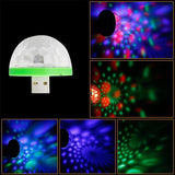 USB Mini Mushroom Light - ZZgeeks