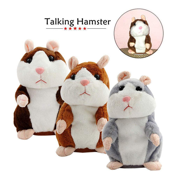 TALKING CHEEKY HAMSTER SOUND TOYS - ZZgeeks