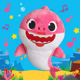 Plush Singing Baby Shark Toy