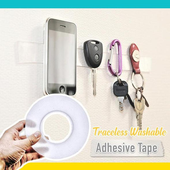 Traceless Washable Adhesive Tape - ZZgeeks