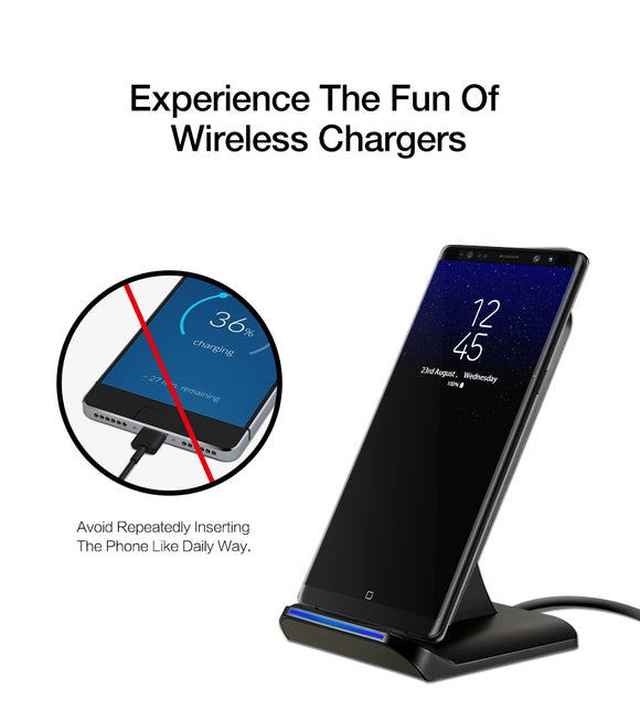 Wireless Charger Stand - ZZgeeks