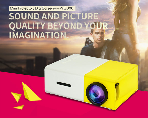 Portable Pocket Projector - ZZgeeks