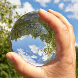 Crystal Clear Lensball - ZZgeeks