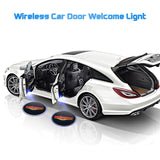 Universal Wireless Car Projection Led Projectot Door Shadow Light - ZZgeeks