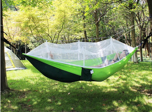 Ultralight Travel Hammock with Integrated Bug Net - ZZgeeks