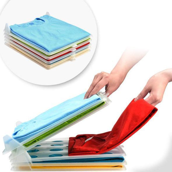 Creative clothing storage folding board (10pcs) - ZZgeeks