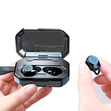 Bluetooth 5.0 & IP7 Waterproof TWS Earbuds Headset Dual Mic with Charger - ZZgeeks