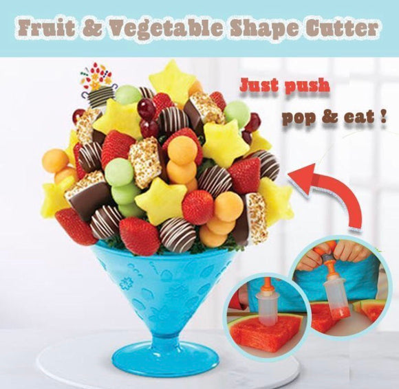 Fruit & Vegetable Shape Cutter - ZZgeeks