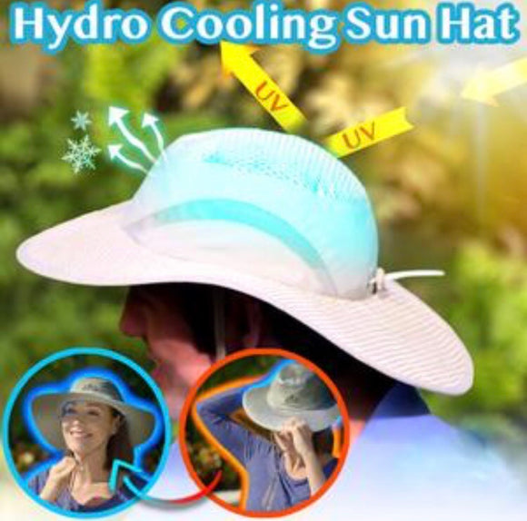 Hydro Cooling Sun Hat - ZZgeeks