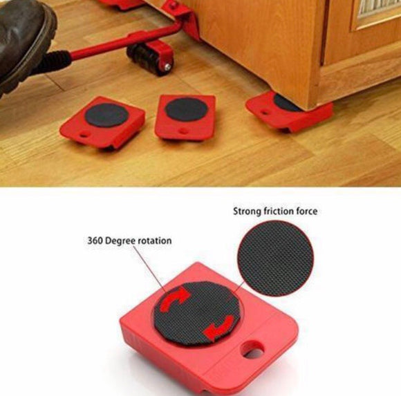 Easy Furniture Lifter Mover Tool Set - ZZgeeks