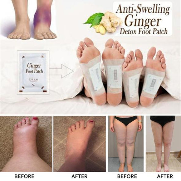Ginger Detox Foot Pads (10 pcs) - ZZgeeks