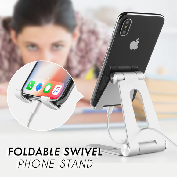 Foldable Swivel Phone Stand - ZZgeeks
