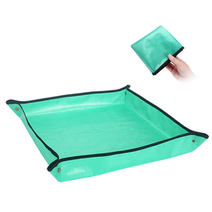 14 Pieces Succulent Tool Set with Waterproof Potting Mat ( 68cm x 68cm)