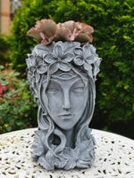 Lady's Head Planter with Drainage Hole - Suit Indoor and outdoor