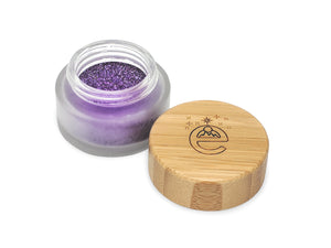 Plant Based Biodegradable Glitter EARTHSHINE purple
