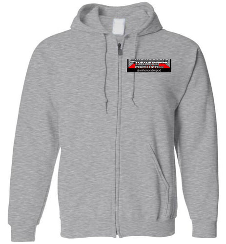 An Honorable Mention Logo Zip-Up Hoodie