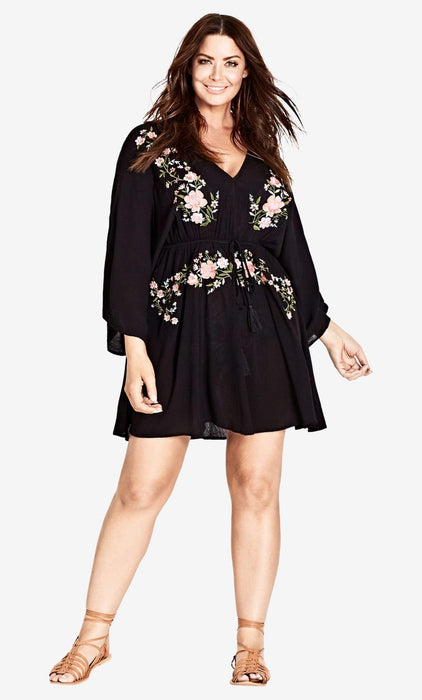 City Chic Festival Vibe Tunic 14 / XS