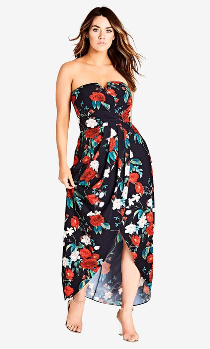 City Chic Hither Maxi Dress 14 / XS