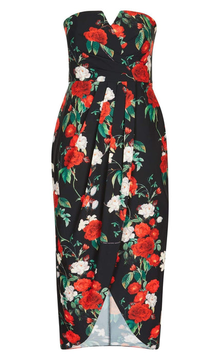 City Chic Hither Maxi Dress