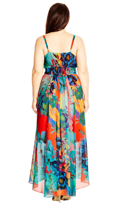 City Chic Hot Summer Days Maxi Dress
