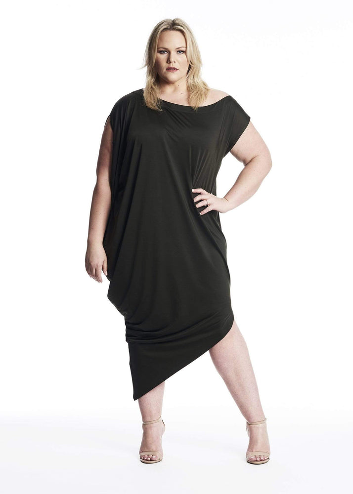Coldesina Jenny Dress In Army