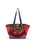 Guadalupe Design Naina Emebellished Tote - Hot Pink / Multi