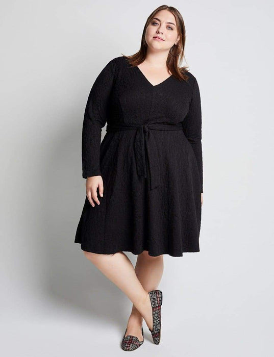 Hutch Gwen Black Animal Dress