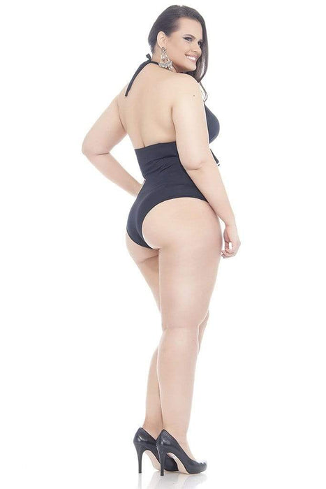 Lehona BACKLESS SWIMSUIT WITH PADDED CUPS