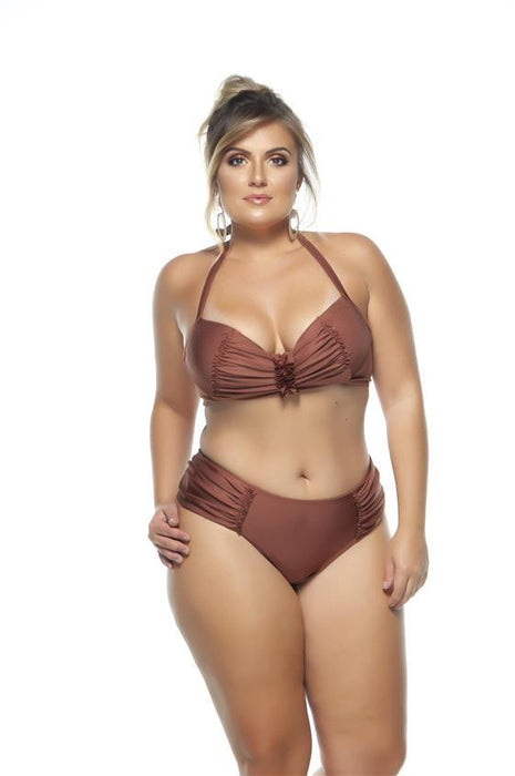 Lehona DRAPED SIDE BIKINI BOTTOM