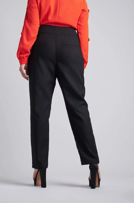 Lost Ink Peg Trouser With Ring Waist