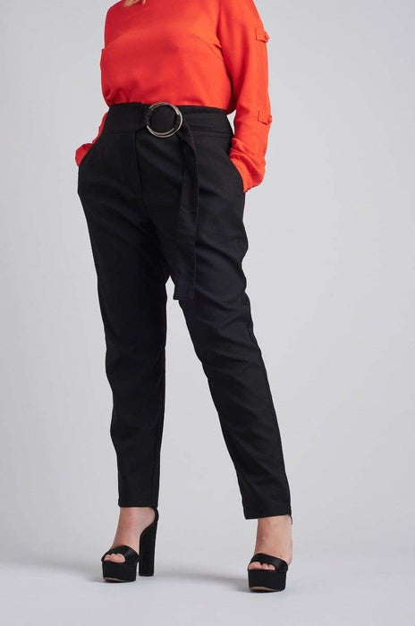 Lost Ink Peg Trouser With Ring Waist US 18 - UK 22