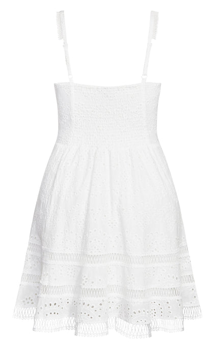 magento2-city-chic Fabricia Dress - ivory