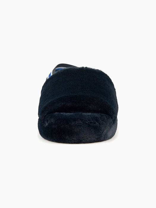 Nest Shoes LISBON Faux Fur Slipper in Black