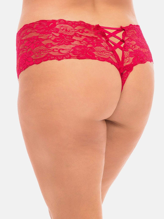 Oh La La Cheri GOODNIGHT KISS Boyshort in Red