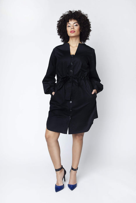Shegul Emme Cotton Shirt Dress