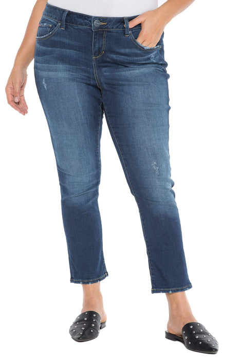 Slink Jeans The Easy High Rise Straight - SHEELA