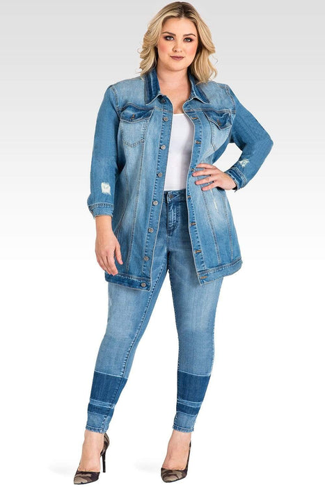 Standards & Practices Margot Oversized Jean Jacket