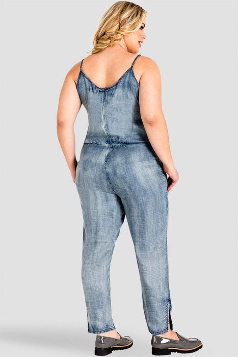 Standards & Practices Precious Denim Jumpsuit