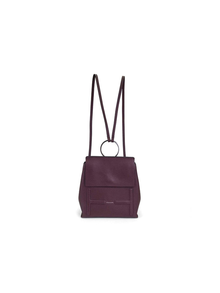 T Tahari Holly Backpack in Aubergine OS / Aubergine